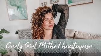 CURLY GIRL METHOD - hiustenpesu & tuotteet 💭