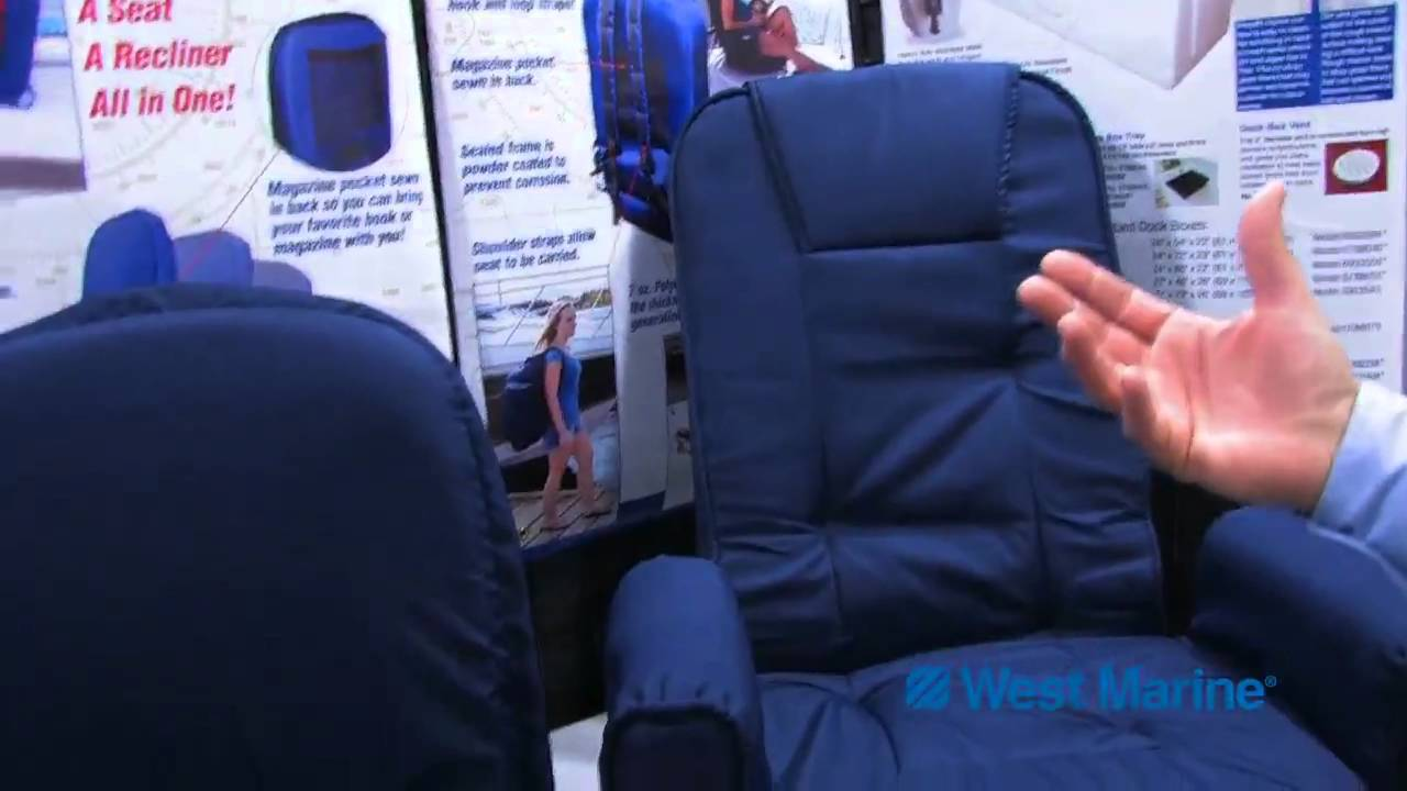 West Marine Go Anywhere Seats by Taylor Made  YouTube