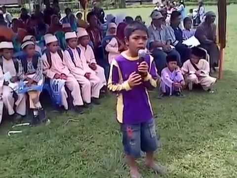 Sai Anju Ma Au-Emri(Anak Kecil Suaranya  Luar Biasa)Merinding
