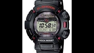 Обзор и настройка часов Casio G-shock GW-9010-1Е [3150]