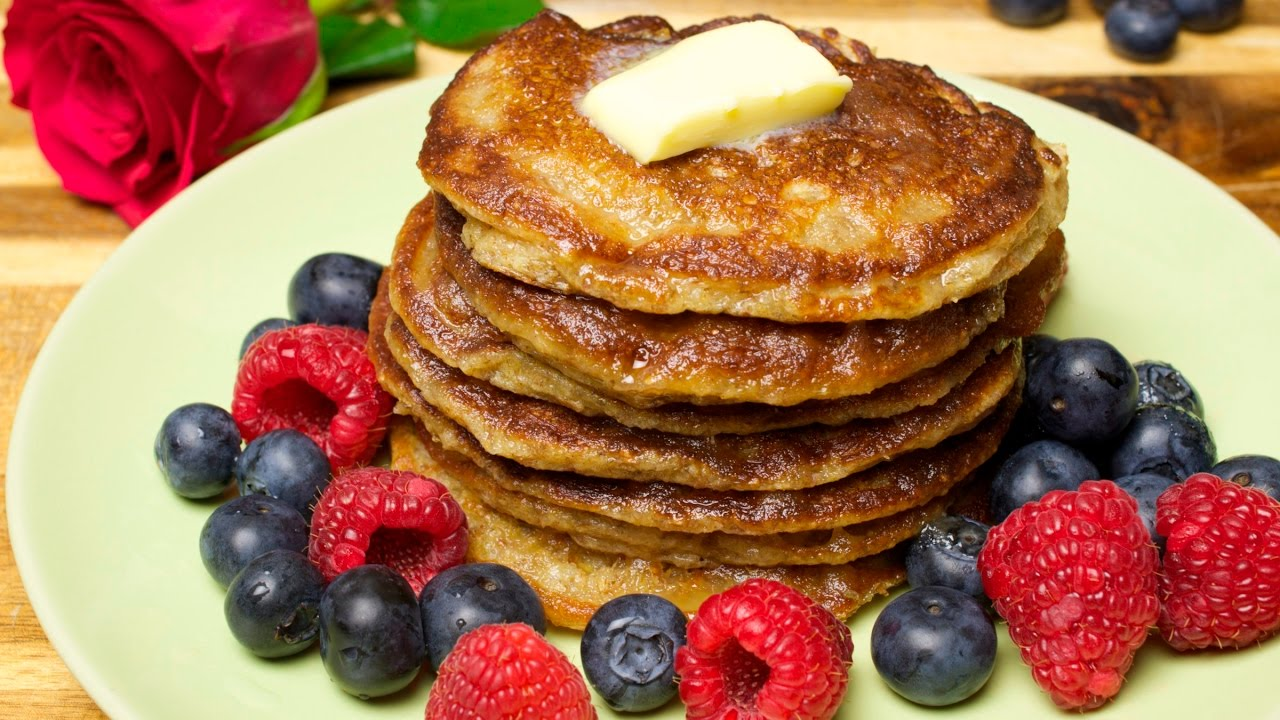 Healthy oat pancakes with wheat bran  How to cook healthy pancakes