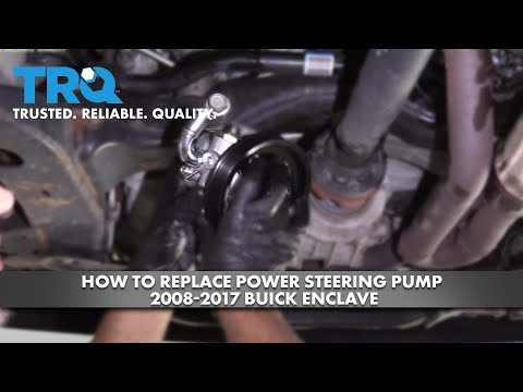 How To Replace Power Steering Pump 2008-17 Buick Enclave