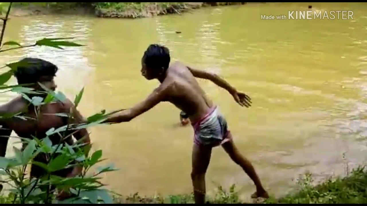 Cambodia child Swimming - YouTube
