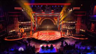 cirque du soleil   americas got talent finale live performance