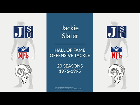 Jackie Slater: Hall of Fame Football Offensive Tackle