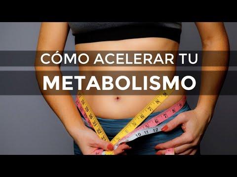 Acelera el metabolismo adelgazar con
