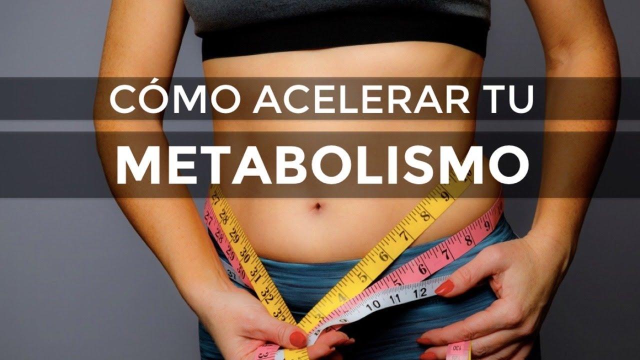 Trucos para acelerar el metabolismo adelgazar
