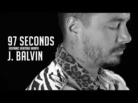 """Why Not Be Happy & Make People Happy"" - 97 Seconds w/ J Balvin"