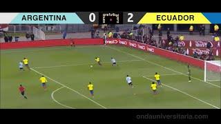 (Emocionante Relato) Argentina 0 Ecuador 2 - SanGre Futbolera