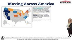 Where Did Americans Move in 2018 INFOGRAPHIC
