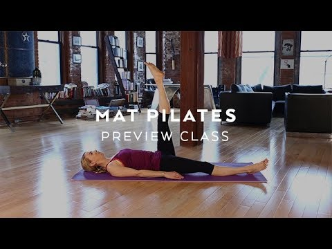 Free Pilates Class with Kristin McGee: At Home Pilates Workout!