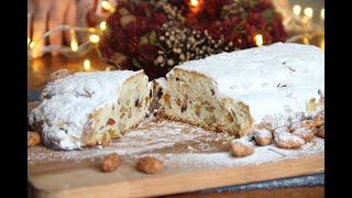 Настоящий Штоллен или рождественский кекс. Quarkstollen