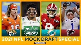 2021 NFL Mock Draft: Patriots land QB, Dolphins add two Alabama stars to help Tua | CBS Sports HQ