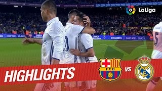 Resumen de FC Barcelona vs Real Madrid (1-1)