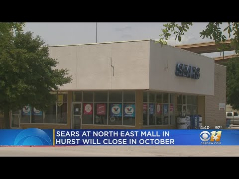 Sears At North East Mall In Hurst Is Closing