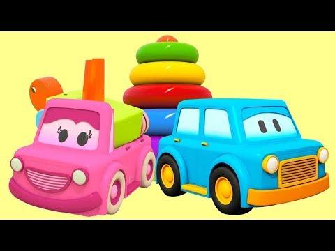 Cizgi Film. Akıllı Arabalar Halkalı Ahşap Kaplumbağayı Topluyorlar