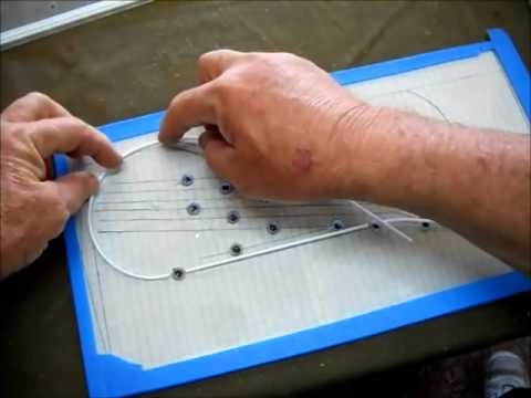 How to build an N Scale model railroad control panel
