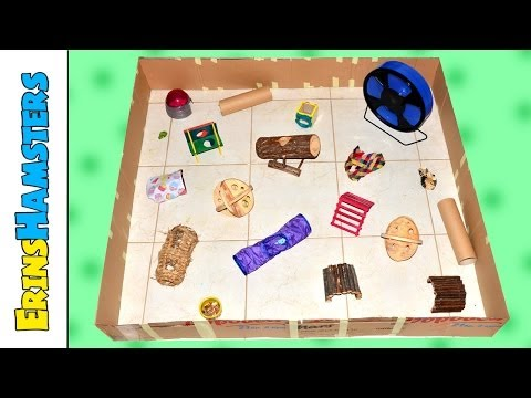 HAMSTER PLAYPEN TUTORIAL