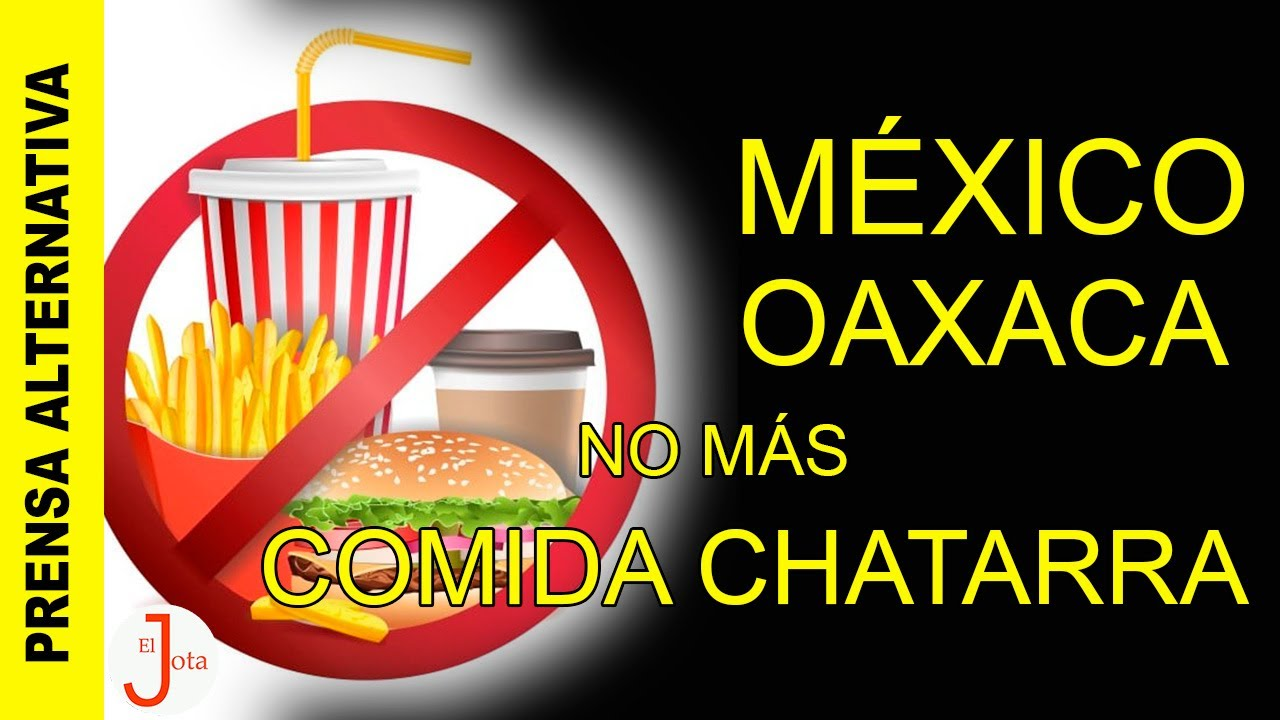 México no volverá a vender comida chatarra a menores edad