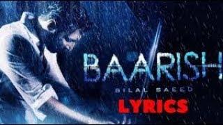Baarish   Bilal Saeed   Latest Punjabi Song 2018   YouTube