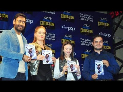 Ajay Devgn's Shivaay Comic Book LAUNCH | Erika Kaar | Abigail Eames | Comic Con India 2016