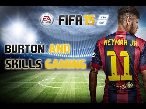FIFA 15 Neymar Goal - Robin Van Persie World Cup Header