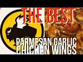 CRISPY GAME DAY PARMESAN GARLIC CHICKEN WINGS/HEALTHY MEAL OPTION