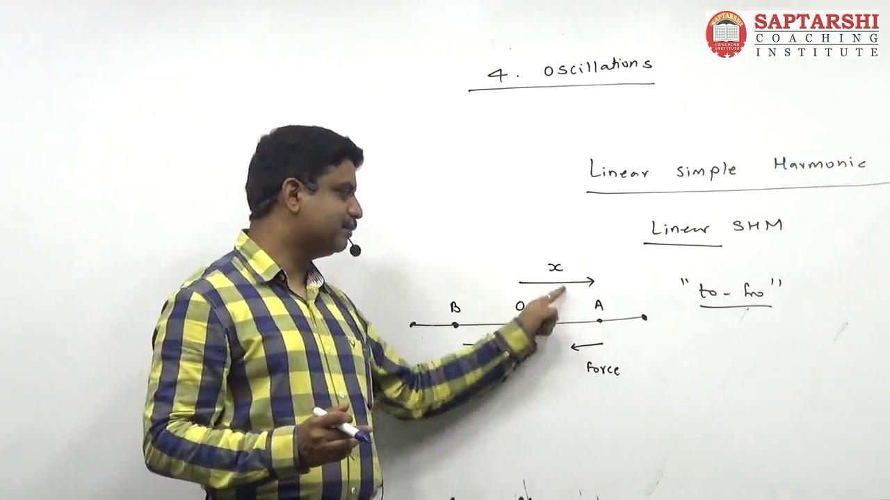 Oscillation Lecture 1, HSC std 12 Maharashtra Board