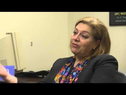 Interview with Maria-Luisa Chavez - Chief NGO Relations, UN DPI
