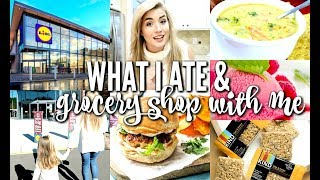 WHAT I ATE | GROCERY SHOP WITH ME | GROCERY HAUL | COOK WITH ME