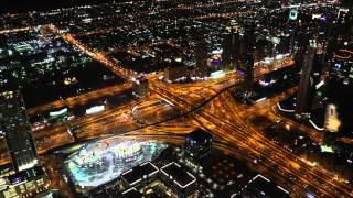 Dubai | The city of Wonder | Night view form Burj Khalifa