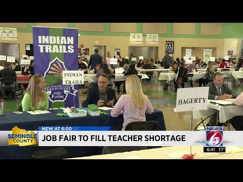 Job Fair To Fill Teacher Shortage