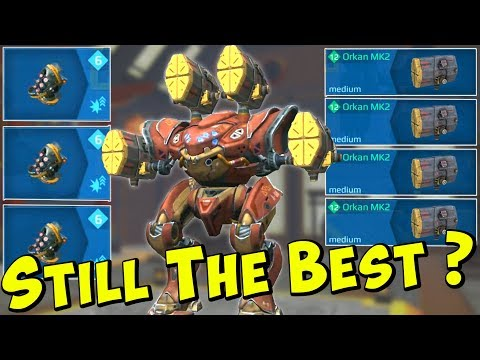 Still The Best? Max Damage ORKAN SPECTRE Mk2 - War Robots Godlike WR