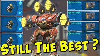 Still The Best? Max Damage ORKAN SPECTRE Mk2 - War Robots Godlike WR