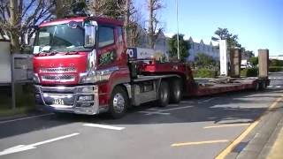Video Lowbed Truck in Japan download MP3, 3GP, MP4, WEBM, AVI, FLV Juli 2018
