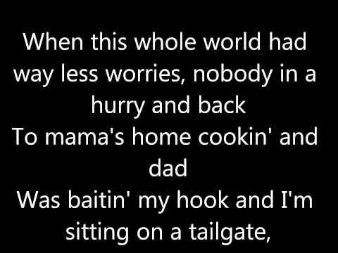 Back By Colt Ford ft. Jake Owen Lyrics On Screen
