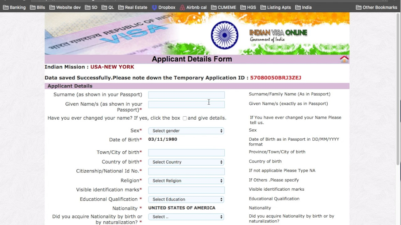 How to Apply for India Visa for Americans: WATCH THIS FIRST ...