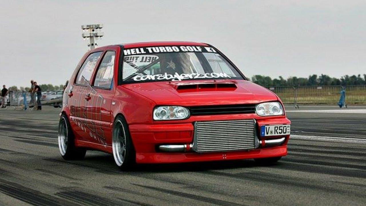 "TTT VW Golf Mk3 VR6 Turbo 1000+HP ""HELL GOLF TURBO"" Half"