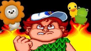 """[Многострадальный Сериал] """"Adventure Island"""" [1986] (Dendy, Nes, Famicom, 8 bit) #1 Попытка"""