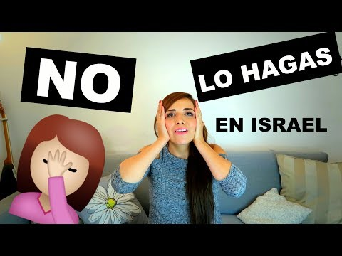 No HAGAS ESTO En TU VIAJE A ISRAEL 🚫Consejos, Tips De Viaje Israel En Español