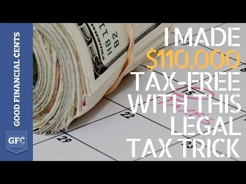 How I Made $110,000 Tax Free With This Simple Hack (yes, it's legal)