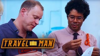 Richard Ayoade & Robert Webb Enjoy Some Embroidery | 48hrs in...Madeira