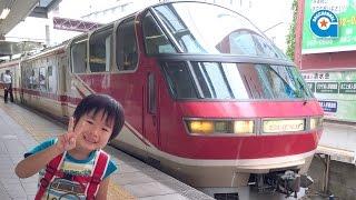 名鉄パノラマスーパーに乗りました【がっちゃんの電車で行こう!シリーズ】金山駅