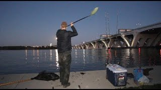tricks for bank fishing big rivers fishing for catfish and striped bass from shore