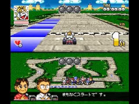 SD F1 Grand Prix (SNES) Crash Race Part 2: Asia Round SD F1 グランプリ (SFC) クレシュレース パート 2 「アジア ラウンド」