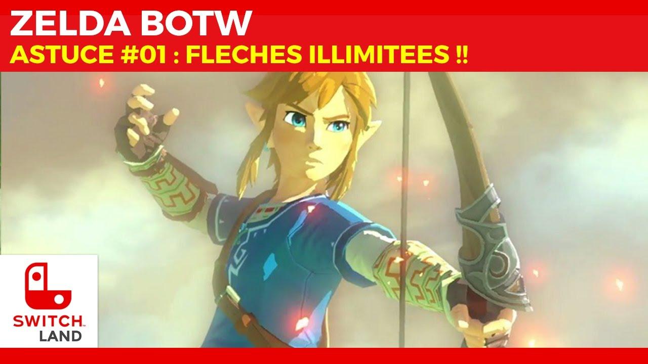 ZELDA BOTW - ASTUCE #01 - Flèches illimitées - Nintendo