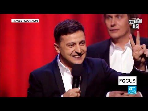 Volodymyr Zelenski, le comique qui pourrait devenir président de l'Ukraine