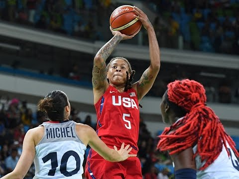 #Rio2016 WOMEN #TEAMUSA 86 VS FRANCE 67 SEMIFINALS POST-REACTION