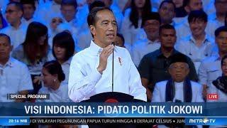 (Full) Pidato Cerdas Presiden Jokowi 'Visi Indonesia'