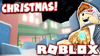 NEW CHRISTMAS MAP RELEASED IN ROBLOX FLOOD ESCAPE 2!!
